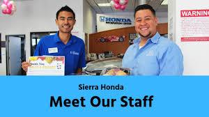 meet our team sierra honda you