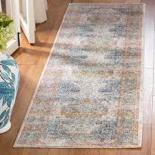 beigeblue area rug rug size runner