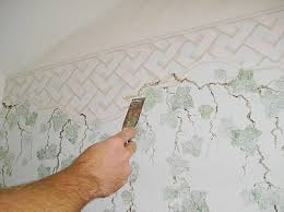 how to remove wallpaper borders the