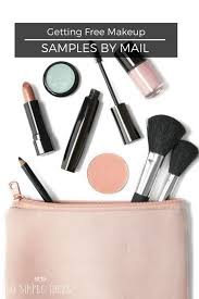 getting free makeup sles by mail