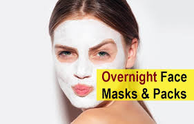 overnight face whitening face masks
