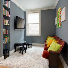20 Kid Friendly Playrooms And Homework Stations With Style Hgtv Small Tv Room Small Living Room Design Kids Tv Room