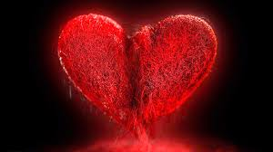 red but sad broken heart free hd