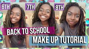 6th 7th 8th grade makeup tutorial tips