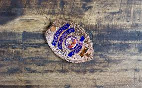 badge cop safety shield police