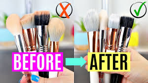 how to wash makeup brushes in 2020