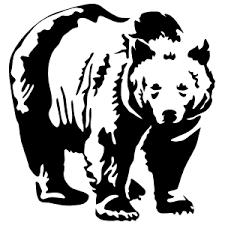 Big Black Bear Sticker