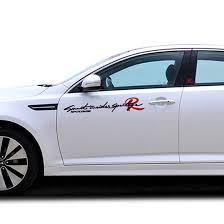 Car Sticker Decal For Kia Rio Ceed Sportage Cerato Reflective 3 Styles 3 Colors 6 Sizes Tuning Auto Car Styling Accessories Car Sticker For Kiacar Styling Aliexpress