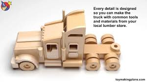 sure free wooden toy truck plans