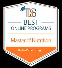 degree programs in nutrition
