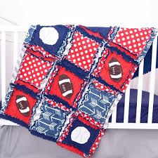 navy crib bedding baseball nursery
