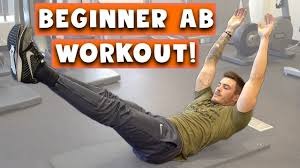 beginner ab workout for men and women