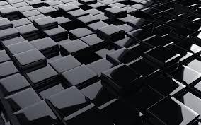 تحميل خلفيات 3d الأسود مكعبات 3d أسود الملمس 3d الفن مكعبات