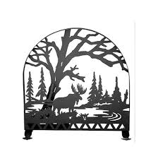 arched fireplace screen 23365