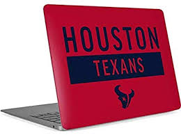 Amazon Com Skinit Decal Laptop Skin Compatible With Macbook Air 13in Retina 2018 2019 Officially Licensed Nfl Houston Texans Red Performance Series Design