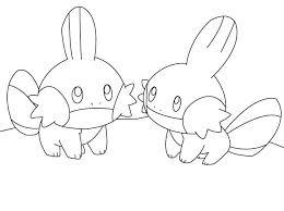 Mudkip Pokemonkleurplaat Http Www Pokemon Kleurplaat Nl