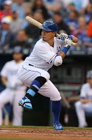 "Norichika ""Nori"" Aoki, Kansas City Royals | 野球"