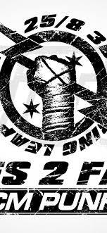 cm punk iphone x wallpaper