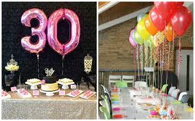 16 Ideas Para Decorar Una Fiesta De Cumpleanos Numero 30