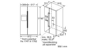 Tủ lạnh Bosch KAD92HI31 - Bếp Bảo Minh