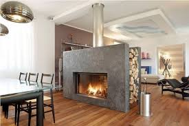 2 sided wood fireplace home design