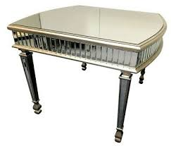 4 seater mirrored dining room table