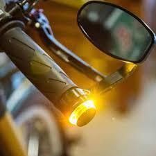 Đèn Led Xe Máy Led Tín Hiệu Leo Vàng Đa Năng 22 Mm Chỉ Báo Flasher Đỡ Thanh  Blinker Bên Cột Mốc Đèn|