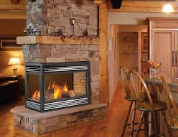 2 sided fire place inserts