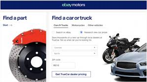 ebay motors integrates truecar ping