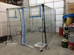 image of diy spray painting tent you ll