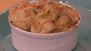 Mac and Seafood Au Gratin