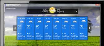 weather channel app for windows