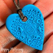 clay essential oil diffuser necklaces