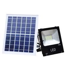 100w solar power led flood light led