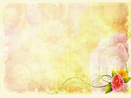 Peace And Happiness Frame Background For Powerpoint Flower Ppt