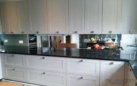 antique tinted mirror splashbacks