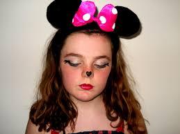 pink minnie mouse makeup ideas