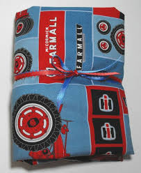 farmall case ih tractor kids bedding