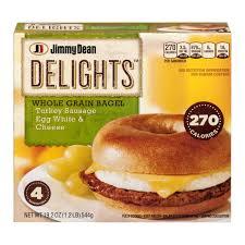 jimmy dean delights whole grain bagel