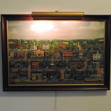 Ray Becker Oil Painting on Canvas   EBTH