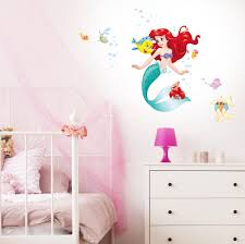 Wall Ons Ariel The Little Mermaid Official Wall Sticker