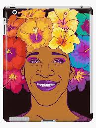 "Marsha Johnson - Hero and Icon"" iPad Case & Skin by coriredford ..."