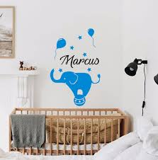 Indian Elephant Wall Decal Uk Large For Baby Art Personalised Etsy Walmart Vamosrayos