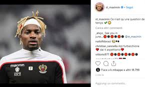 AC Milan, Saint-Maximin drops hint on Instagram about possible ...