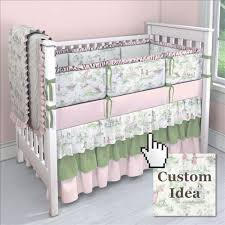 toile baby bedding toile pattern crib