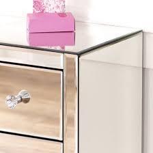 3 drawer slim narrow nightstand
