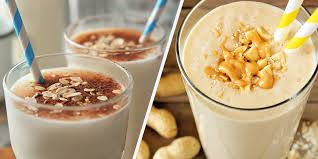 delicious homemade weight gainer shake