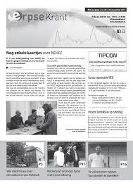 Erpse Krant 2017 Editie 39 By Erpse Krant Issuu