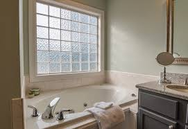 types of glass for bathroom windows for