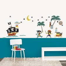 My Sweet Muffin Pirate Wall Stickers Wall Decor Stickers Kids Wall Decals Wall Stickers Kids